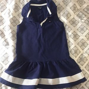 Girls 4T sleeveless polo dress